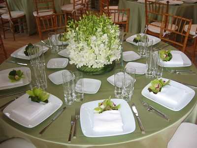 Dinner party table setting inside l 39 olivier 39 s shop flickr - Table setting for a party ...