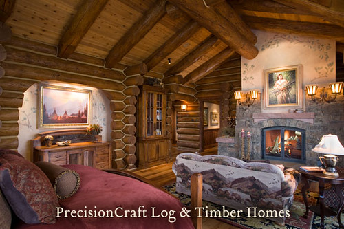 handcrafted log home in jackson hole wy by precisioncra