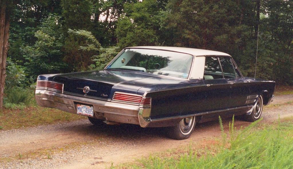 1966 Chrysler 300 2 66 Chrysler 300 Rear Andy Flickr
