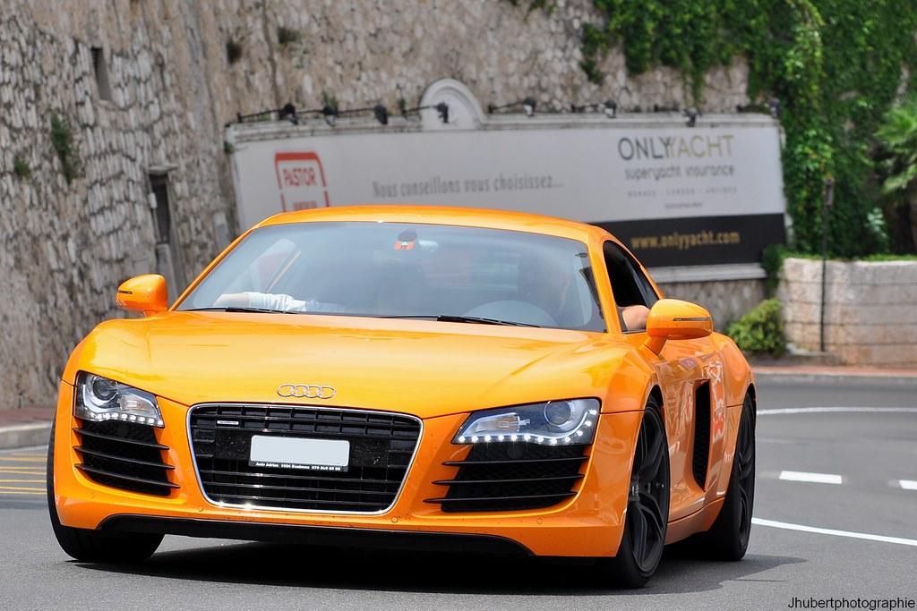 Orange Audi R8 V8 Jhubertphotographie Free Fr Eden