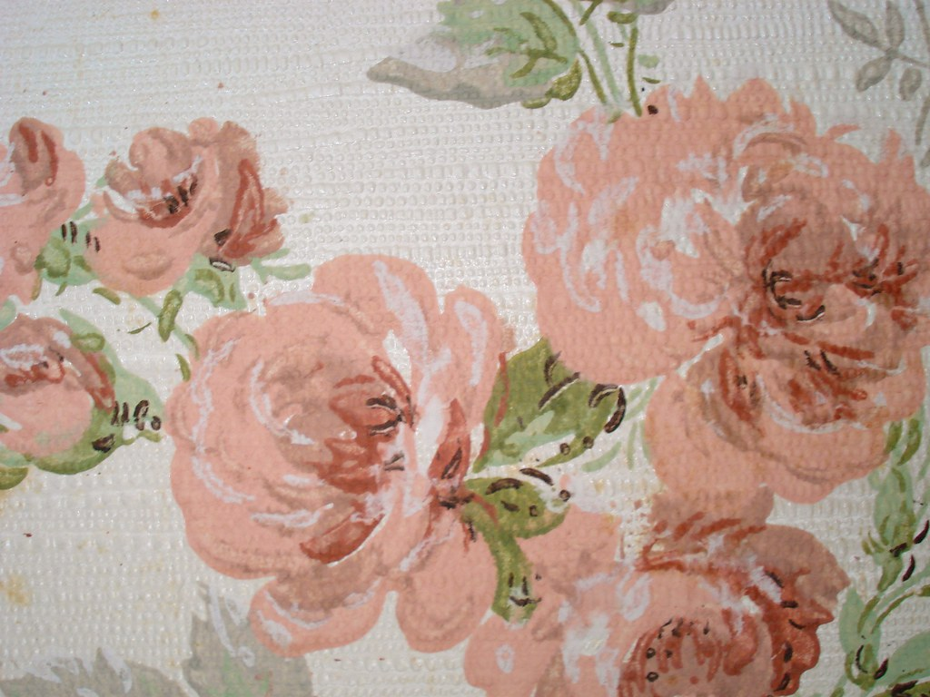 Old Floral Wallpaper