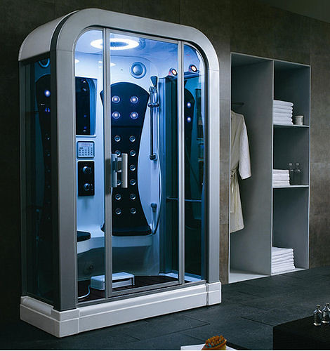 Ultra Cool Fun Creative Interior Design: Future Shower (2025)