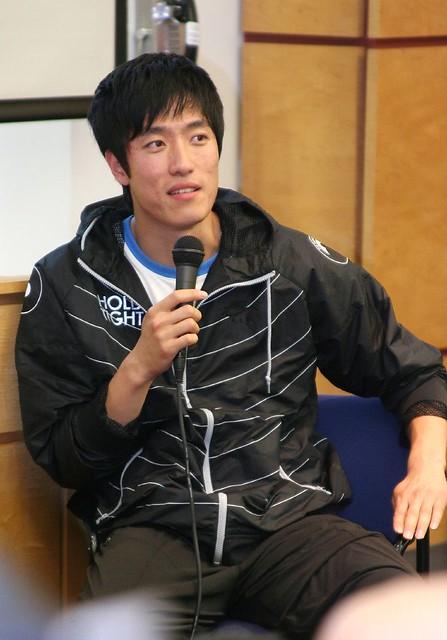 Liu Xiang@Columbia 1