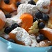 apricot blueberry cobbler