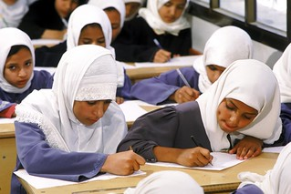 Students taking year end exams | by World Bank Photo Collection