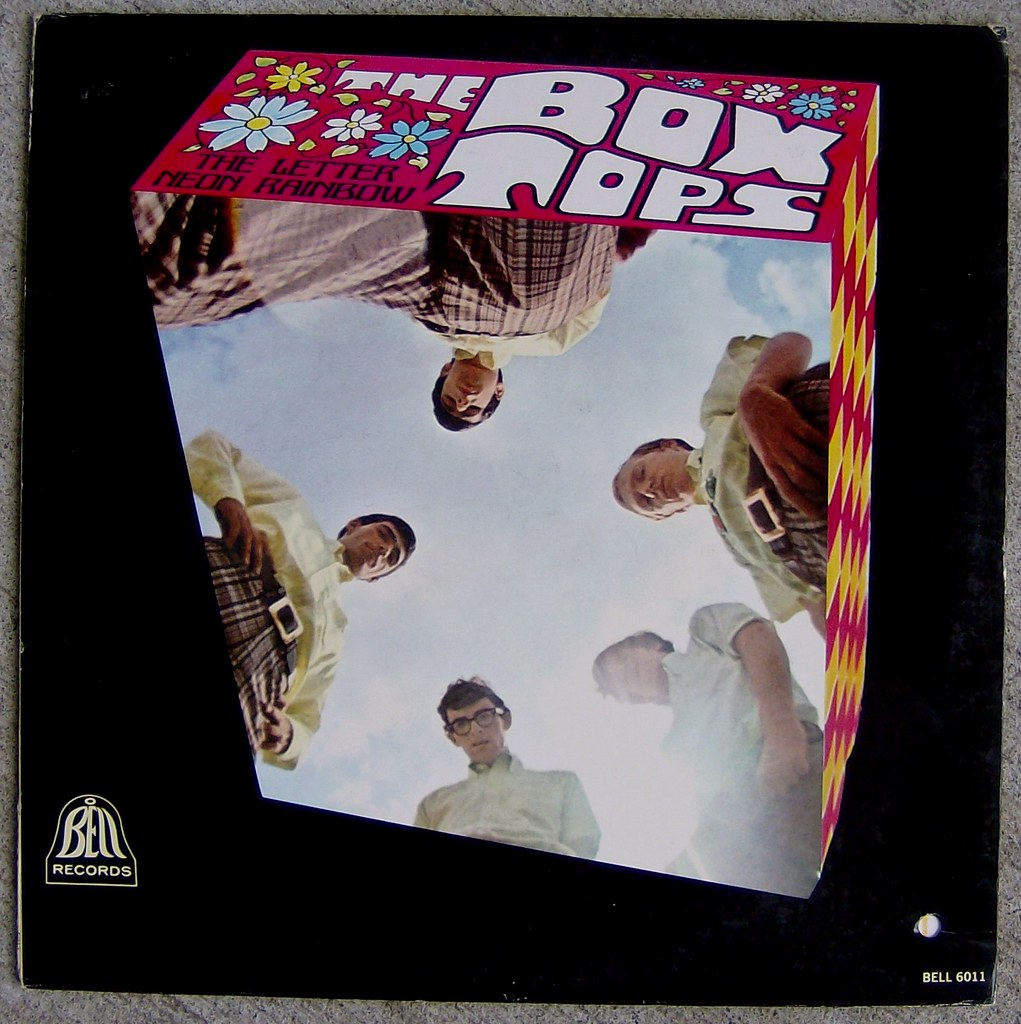 Box Tops The Letter Cover