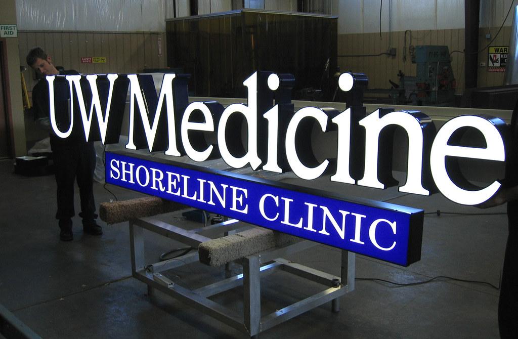Medical Center Signage Exterior Channel Letters Exteri