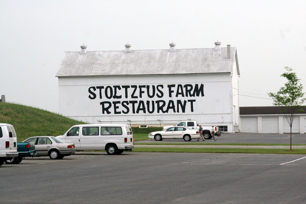 Stoltzfus Farm Restaurant it used to be part of the house …