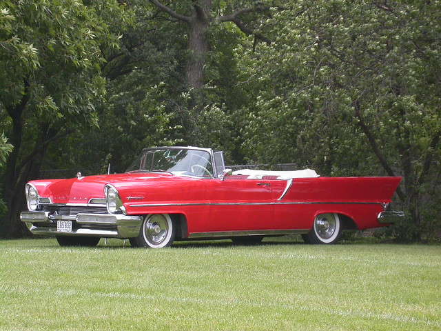 1957 lincoln premiere convertible on the lawn 7 20 2003. Black Bedroom Furniture Sets. Home Design Ideas