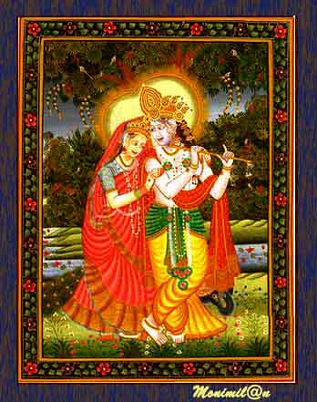 radha-krishna (Madhubani Paintings) | Monimilan DK | Flickr