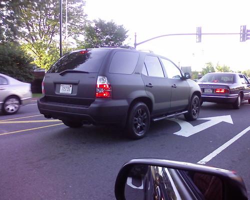 Confusing matte black suv flickr photo sharing for Mercedes benz jeep matte black