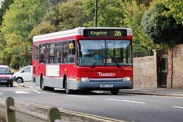 Transdev London Bus Route 216 Sunbury Flickr Photo