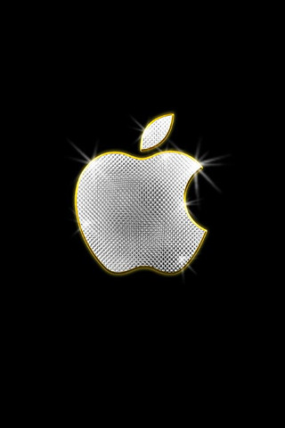 Apple bling iPhone wallpaper | Flickr - Photo Sharing!
