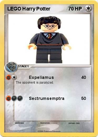 Lego Harry Potter Pokemon Card Harry Potter Max Dixon Flickr