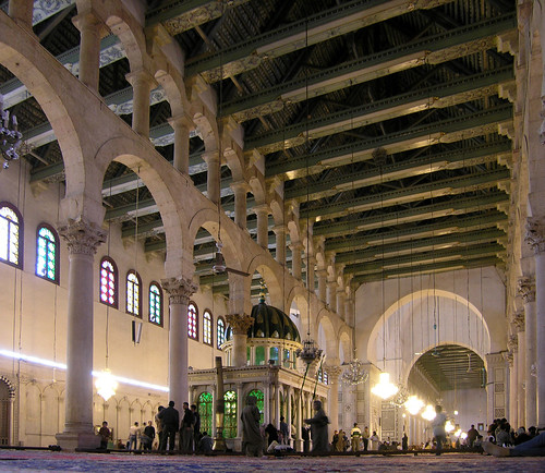 great mosque of damascus 709-15 AD, syria, easter 2004 | by seier+seier