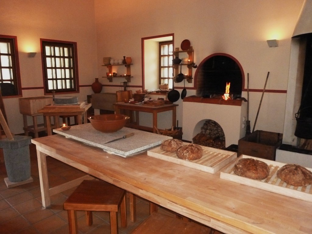 Roman Kitchen Villa Borg Saarland Germany Roslyn