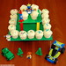 Toy Story and Lego Cupcake Stand