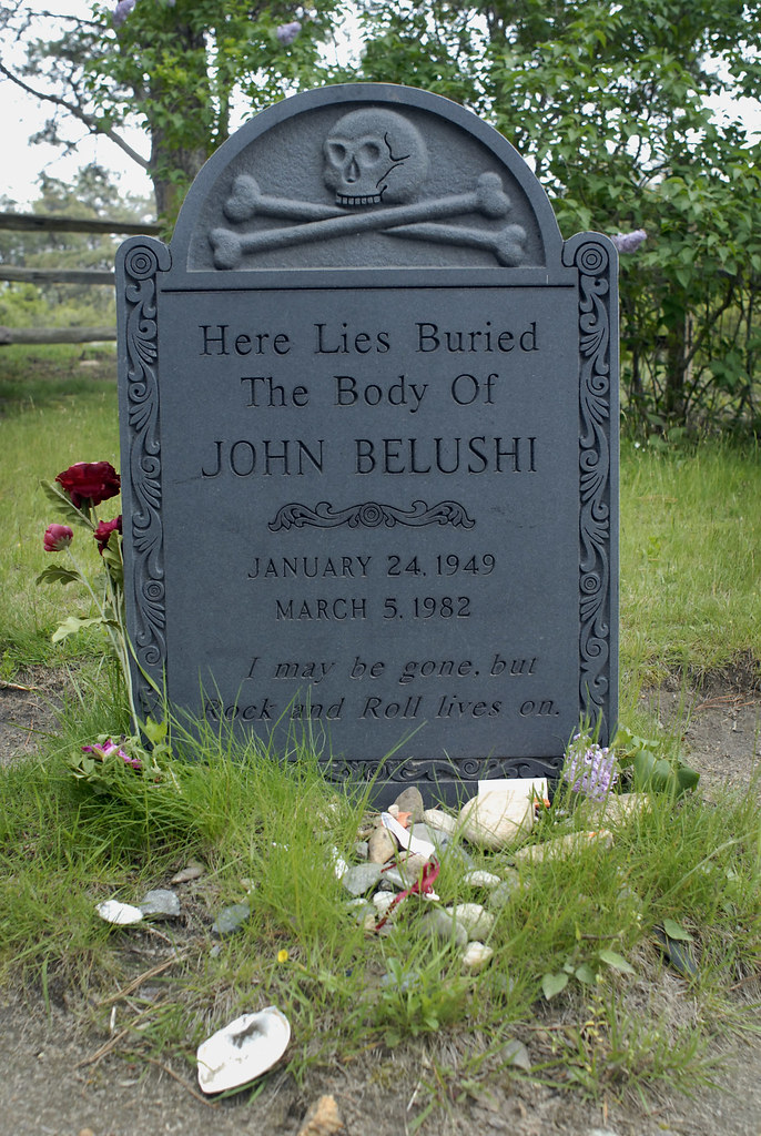 John Belushi's Grave | Martha's Vineyard | Mark Murrmann ...