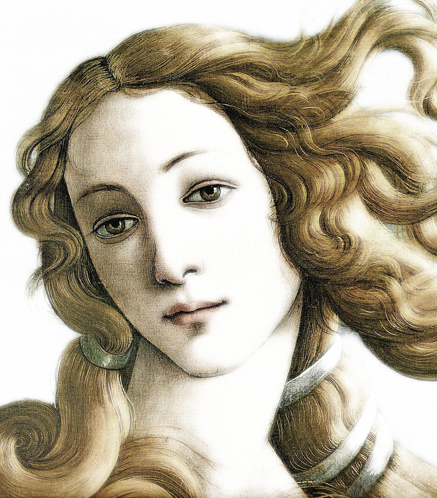 nacimiento de venus botticelli detalle detalle de la p flickr. Black Bedroom Furniture Sets. Home Design Ideas
