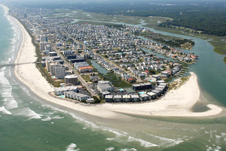 Cherry Grove Myrtle Beach Sc Map