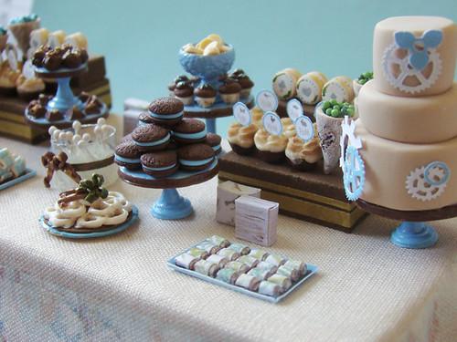 Miniature Dessert Table Alice Project Shauna Younge