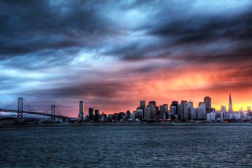San Francisco Skyline sunset | by Curtis Fry