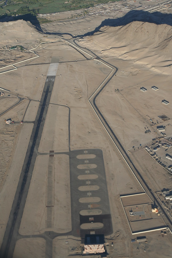 Leh Airport Runway | Landing here can be very difficult ...