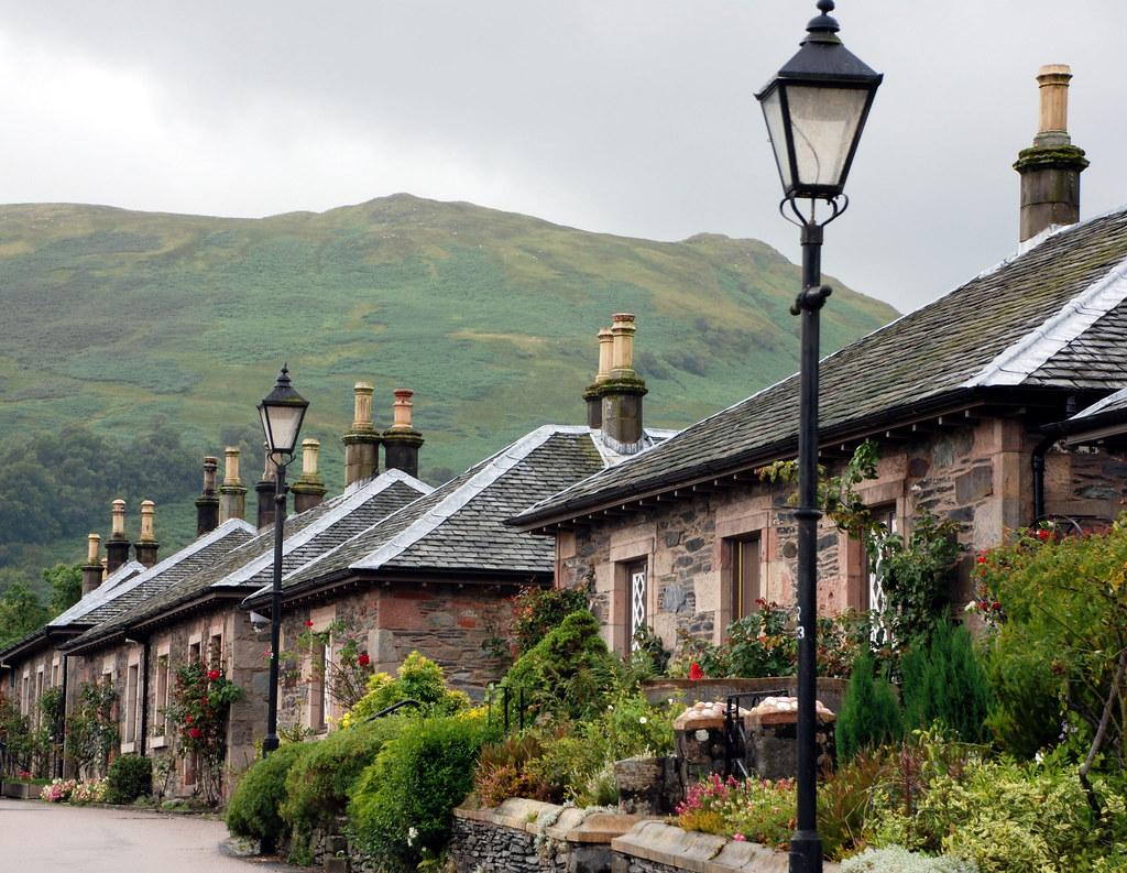 A Very Nice Scottish Village.