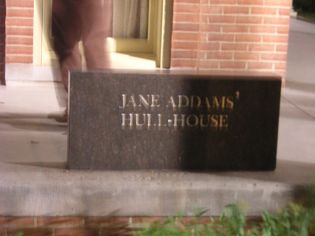 jane addams' hull house | founded in 1889 and located on the… | flickr