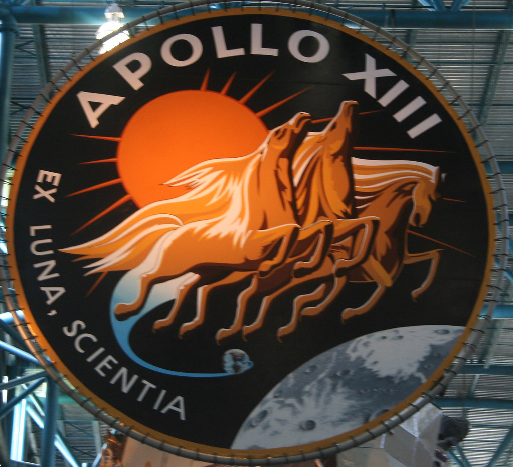 Apollo 13 Insignia | Apollo 13 was the third manned lunar ...