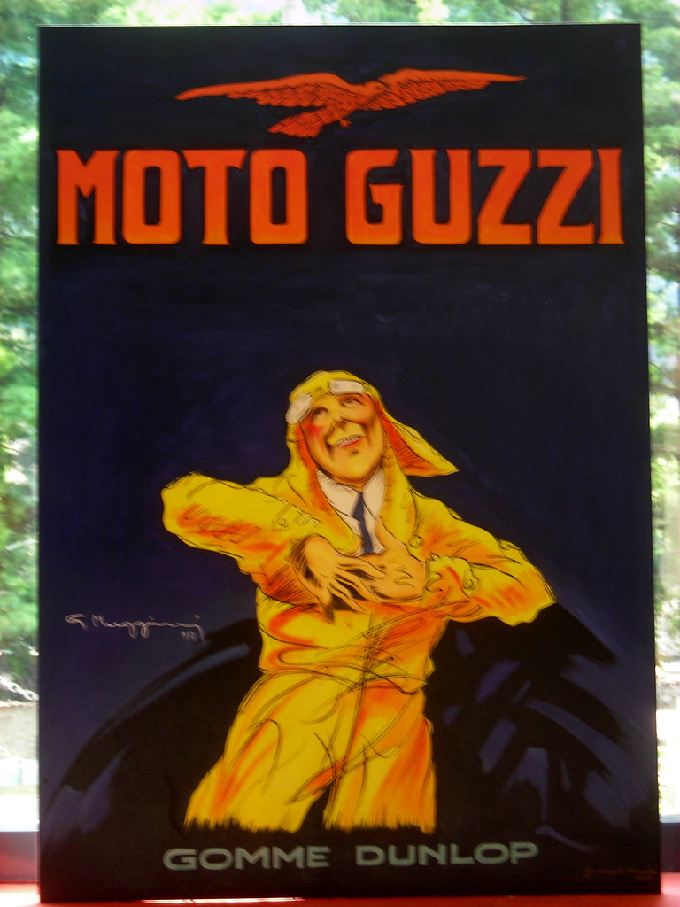Old Moto Guzzi Poster | 'Moto d'Epoca' Exhibition, 2007 ...