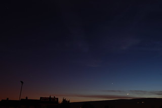 Gemini, Venus and cresent moon | by Yodatheoak