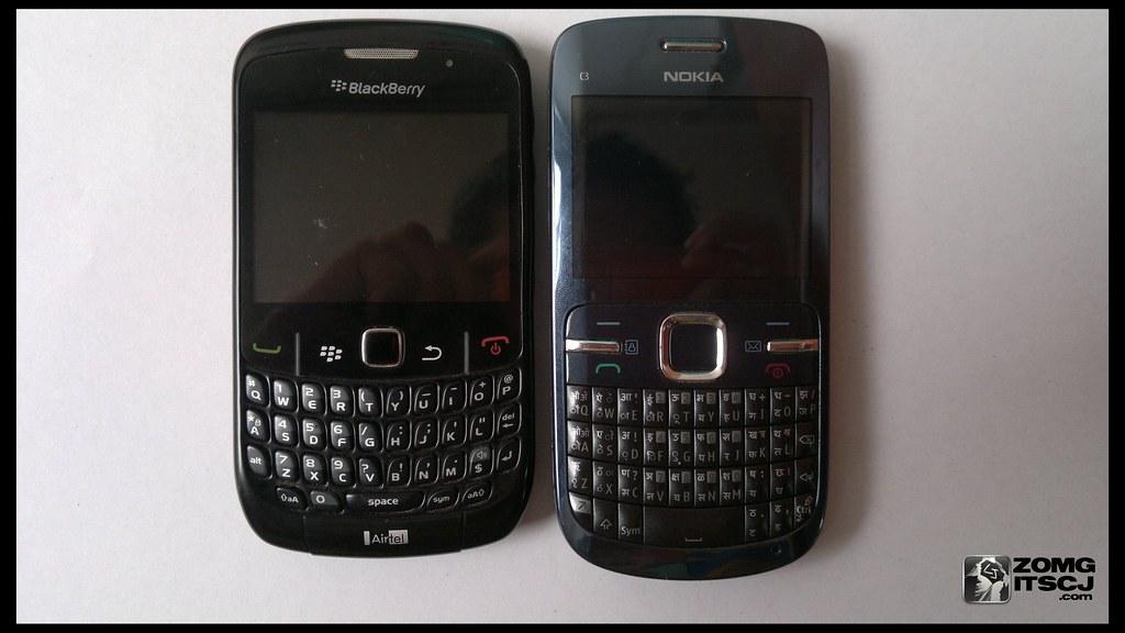 Blackberry Curve 8520 Vs Nokia C3 Blackberry Curve 8520