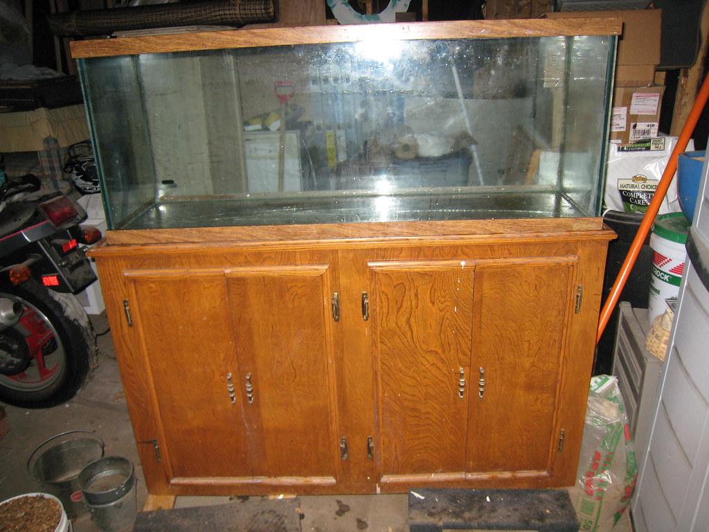 Complete 55 Gallon Aquarium Stand For Sale Sold