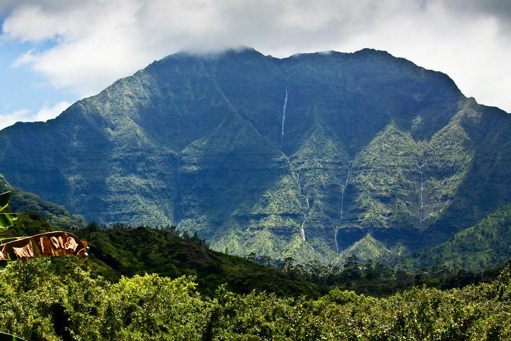 Namolokama, a mountain behind Hanalei