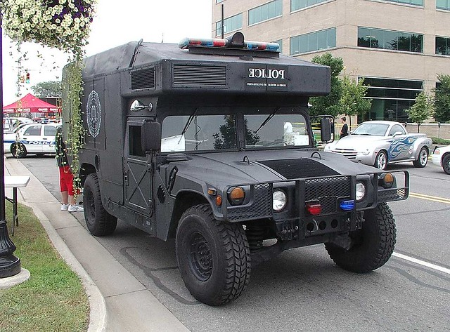 Fbi Detroit Office Swat 10 Fbi Swat Team Humvee Detroit