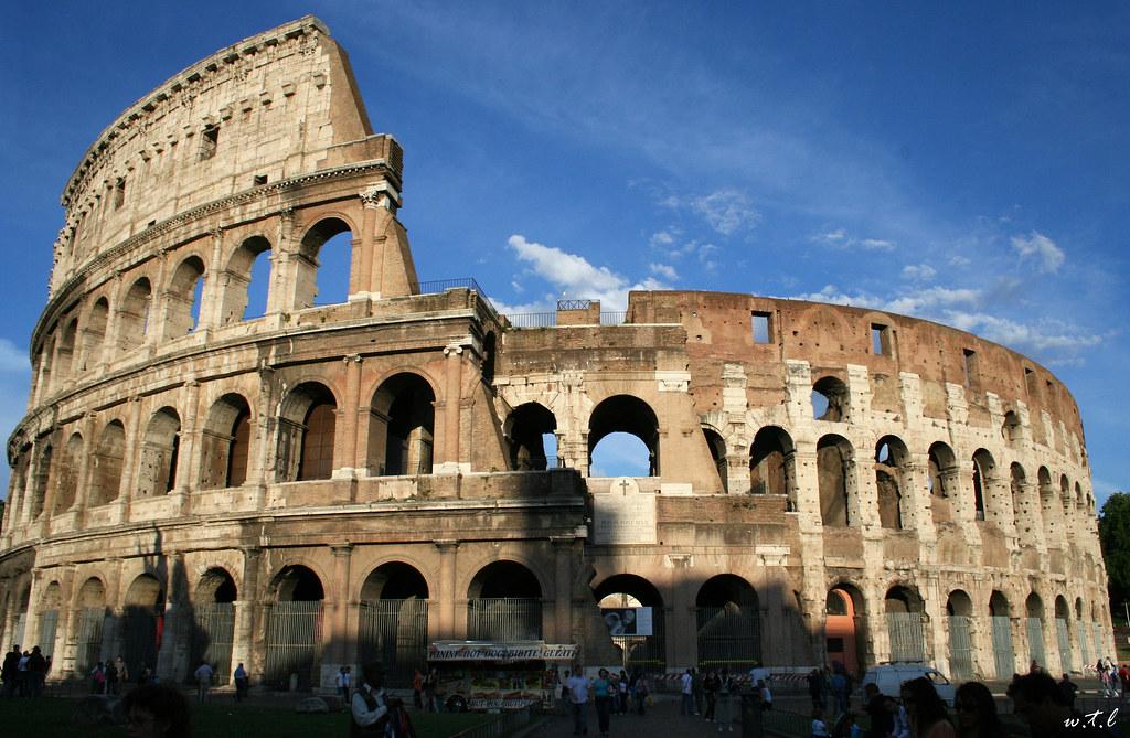 The Colosseum Or Coliseum, Originally The