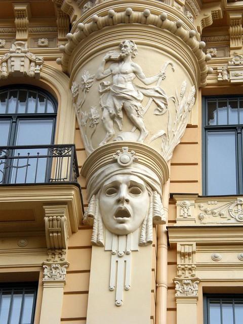 Art nouveau in riga priit halberg flickr - Art nouveau architecture de barcelone revisitee ...