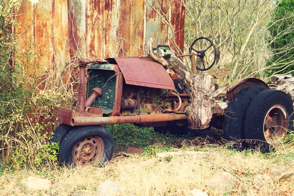 home  tractor  built   car truck  tract flickr