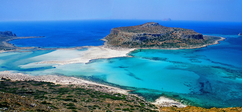 Mpalos beach | Crete Island, Greece - 2 photos stitched ...