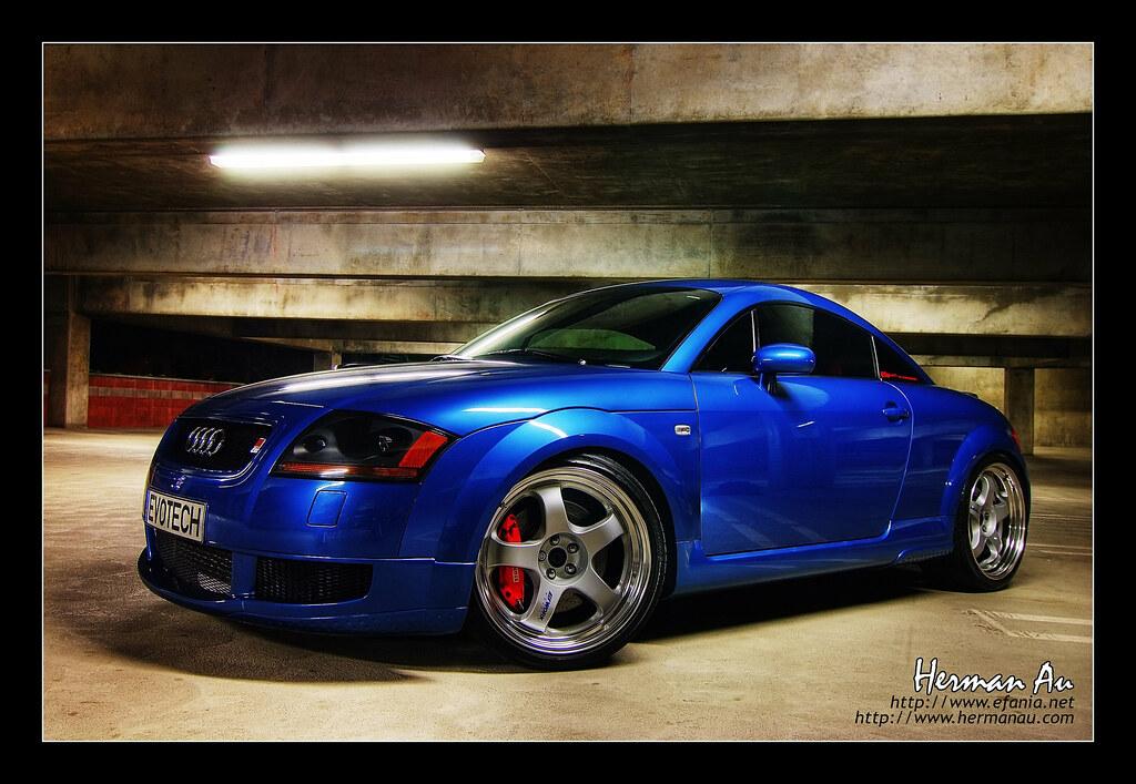 Denim Blue Audi Tt Mk I Sooooo Tastefully Done This Has