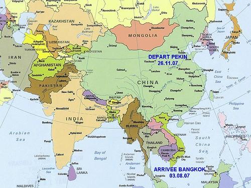 Carte Du Pakistan Et Ses Ville