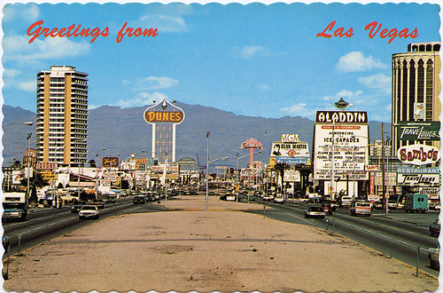 Las Vegas Strip, 1970's | by Roadsidepictures