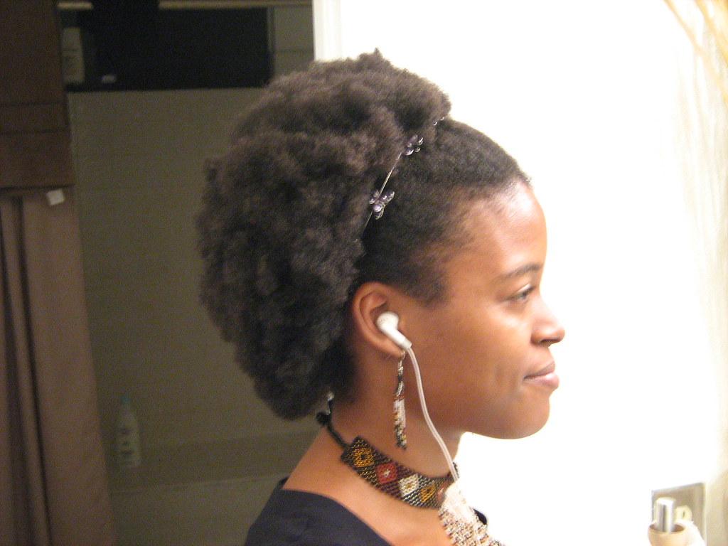Natural Black Hair Fine