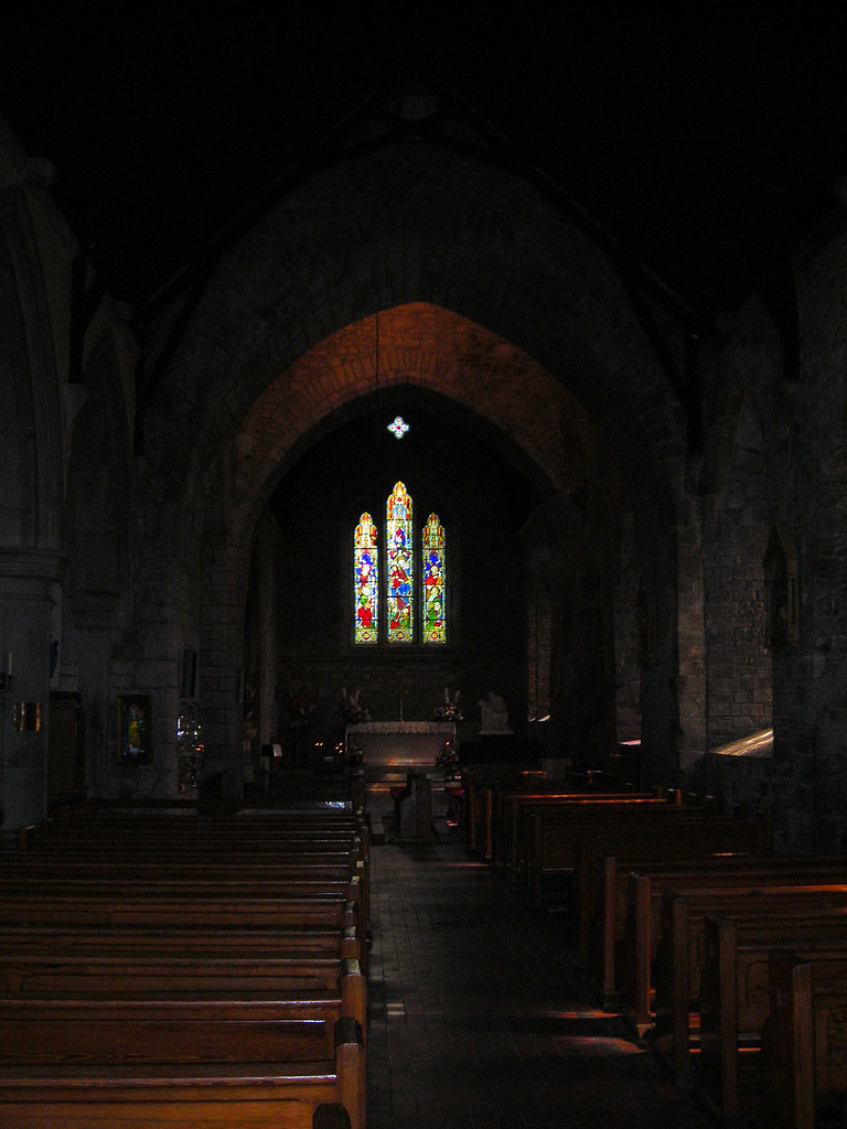Stained glass window in the trinitarian abbey adare co li for The new window company