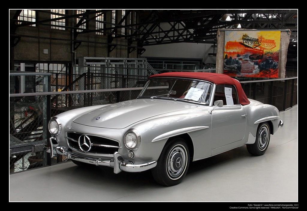 1955 Mercedes W 121 190 Sl The Mercedes Benz 190sl Was