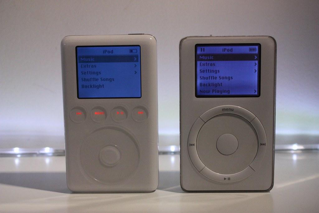 iPod 2nd Gen 10GB v iPod 3rd Gen 40GB | Part five of my ...