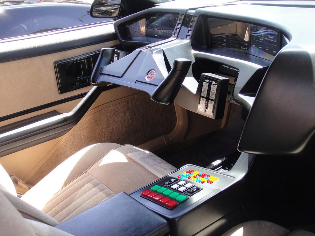 culver city car show knight rider k i t t interior flickr. Black Bedroom Furniture Sets. Home Design Ideas