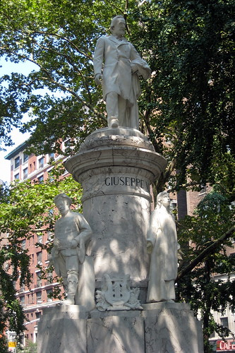 NYC - UWS: Verdi Square - Giuseppe Verdi Monument | by wallyg
