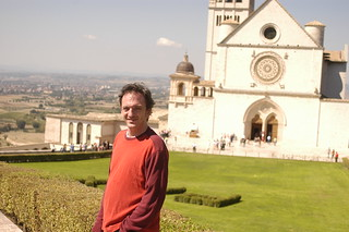 the Chef in front of the Basilica | by shauna | glutenfreegirl